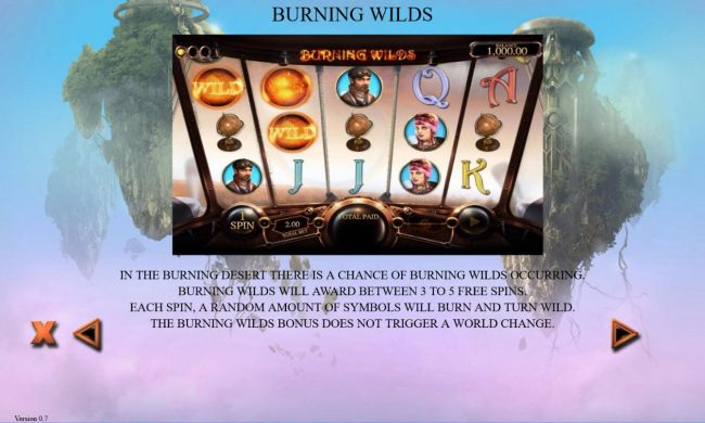 Burning Wilds Rules
