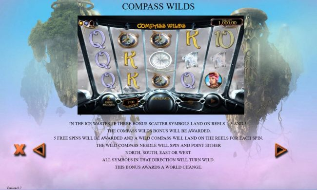 Compass Wilds Rules