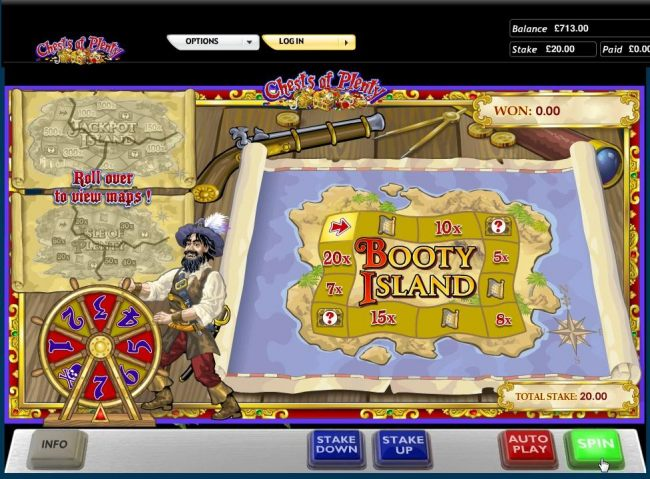 Spin the wheel to advance around the game board.