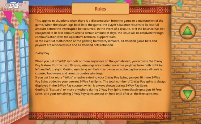 2-Way Pay Rules