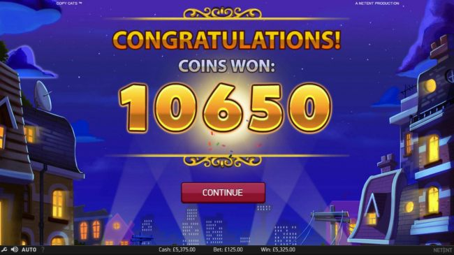 Total free games win 10650 coins.