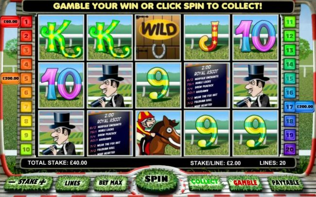 Multiple winning paylines triggers a $460 big win!