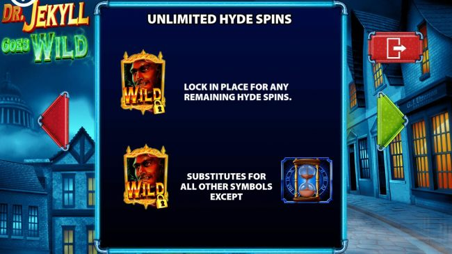 Hyde wilds lock in place for any remaining Hyde Spins