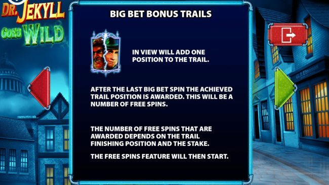 Big Bet Bonus Trails Rules