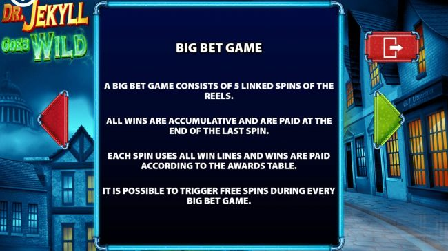Big Bet Game Rules