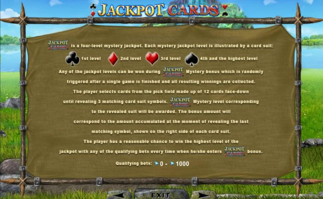 Jackpot Cards Rules