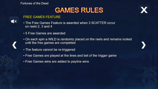 Free Spins Bonus Game Rules