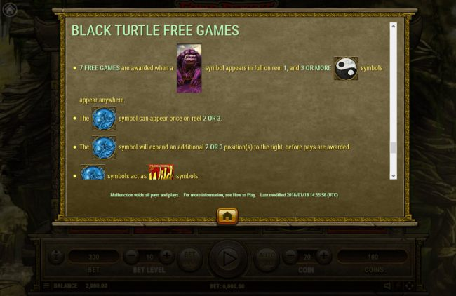 Black Turtle Free Spins