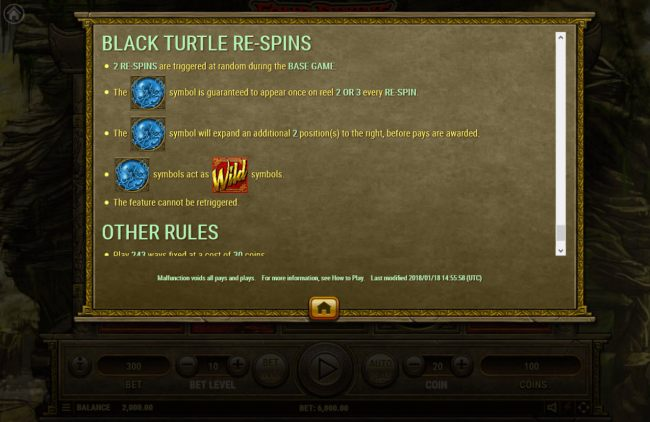 Black Turtle Re-Spins