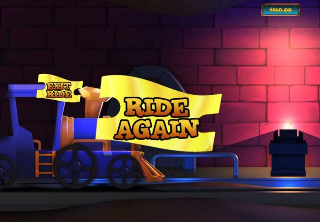 Ride Again to collect more prizes.