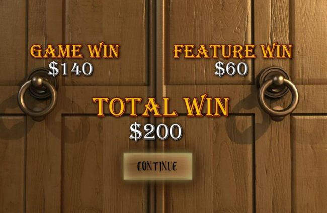 The free games features pays out a total of $200