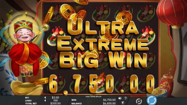 Ultra Extreme Big Win 6750 coins