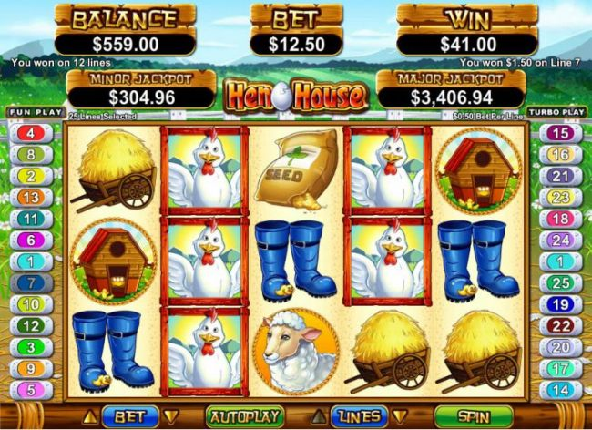 multiple winning paylines triggers $41 jackpot