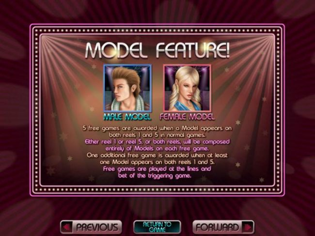 model feature game rules