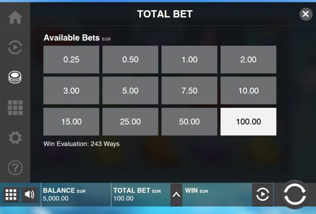 Available Bets