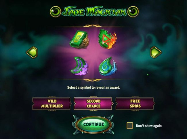 Game features include: Wild Multiplier, Second Chance and Free Spins!