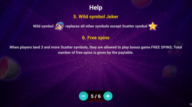 Wild Symbol and Free Spins Rules