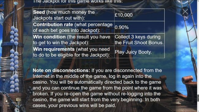 How the Jackpot Treasure Game Works