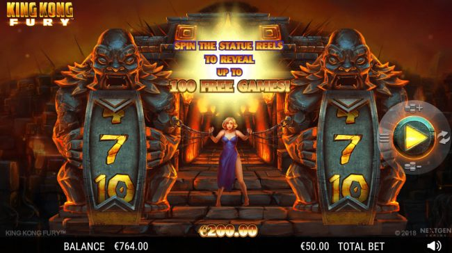 Spin the reels to win free spins