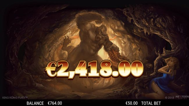 Total free games payout 2418 coins