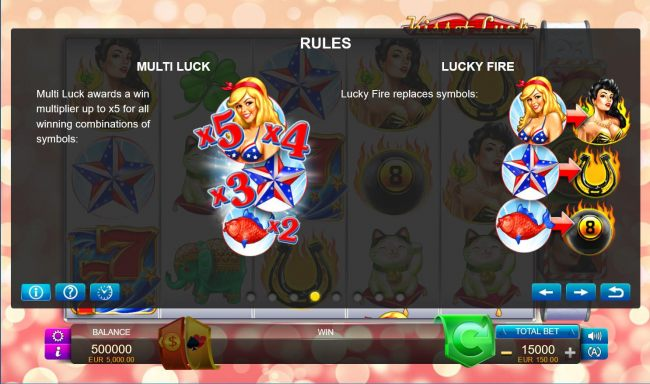 Multi Luck and Lucky Fire Rules