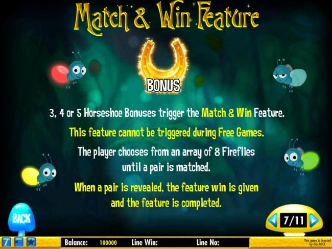 Match and Win Feature Rules