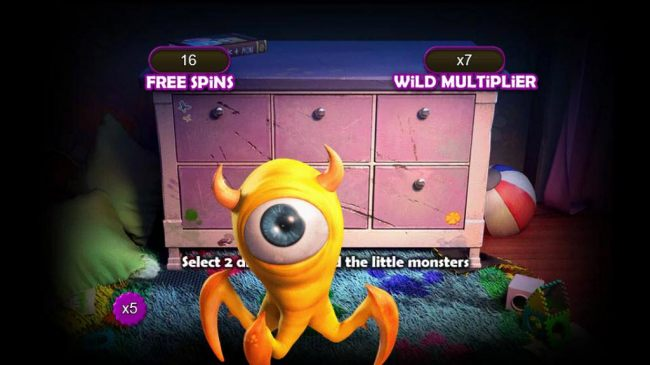 8 free spins added with an x5 multiplier