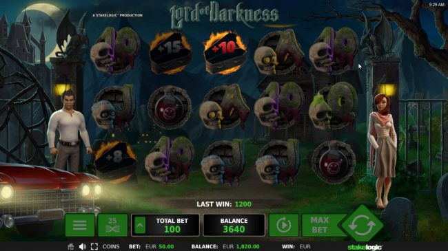 Selection awards 10 free spins.