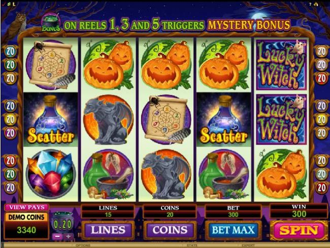 two scatter symbols trigger jackpot payout