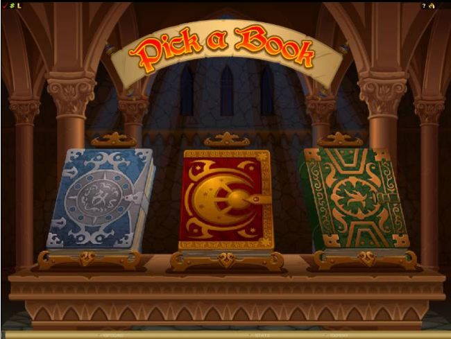 as part of the mystery bonus you select a book to determine the prize multiplier