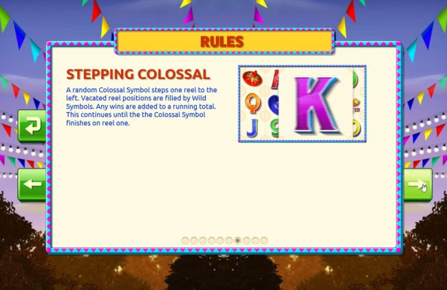 Stepping Colossal Rules