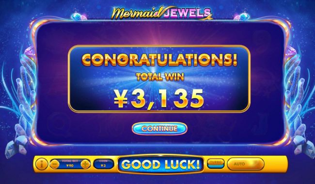 Total Free Games Payout 3135 Coins
