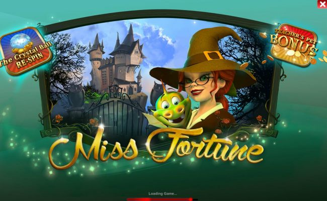 Game features include: The Crystal Ball Re-Spin and Teachers Petr Bonus.