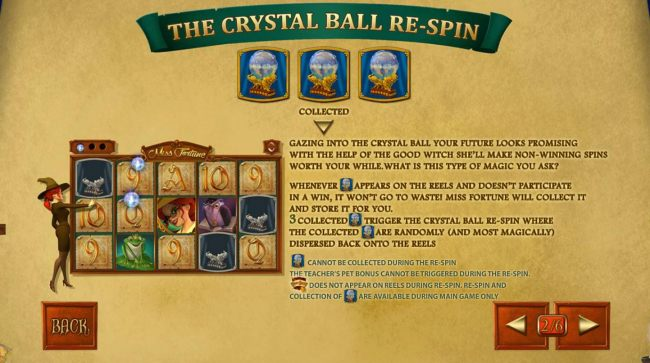 The Crystal Ball Re-Spin Rules