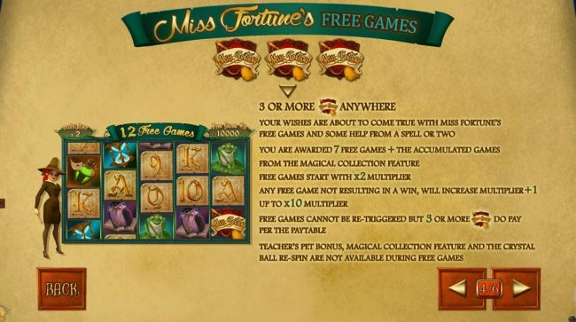 Mis Fortunes Free Games Rules