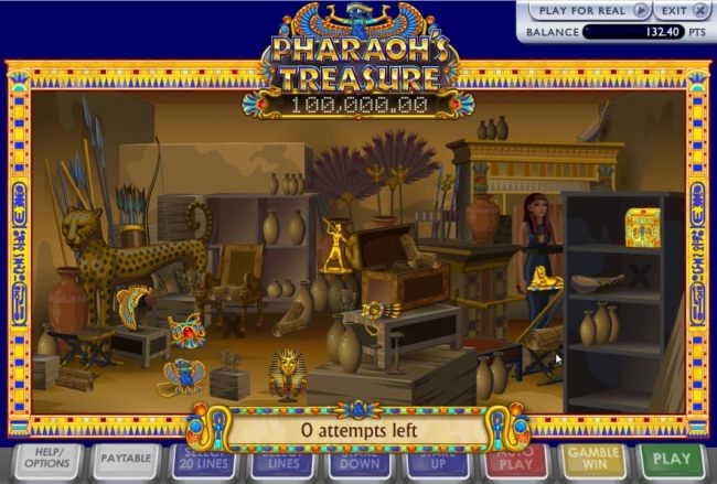 Here is a view of the seven treasures within the room