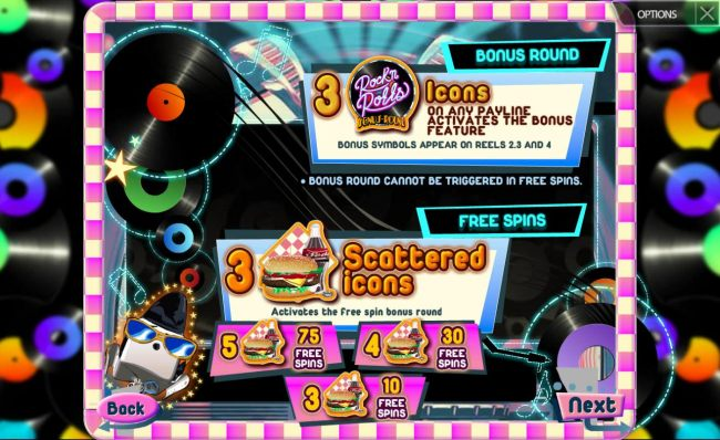 Bonus Round and Free Spins Rules