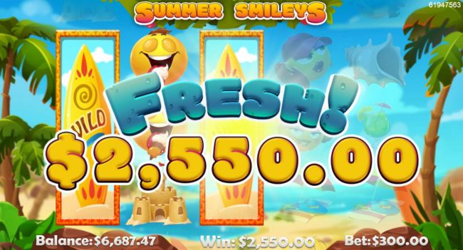 A pair of stacked wild symbols on reels 1 and 3 triggers a 2500 jackpot win