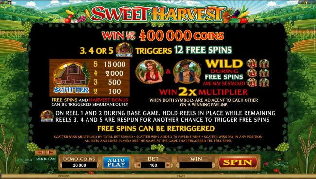 scatter, wild and free spins rules