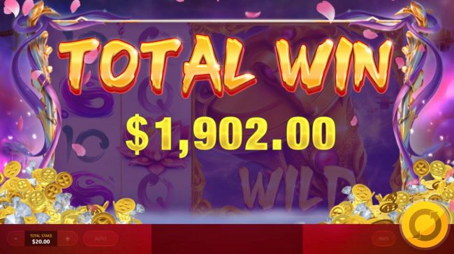 Free Spins feature pays out a total of 1,902.00