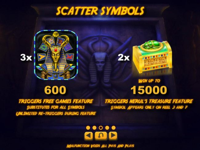 Scatter Symbols Rules and Pays