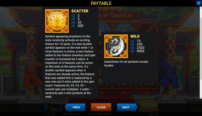 Wild and Scatter Symbol Rules