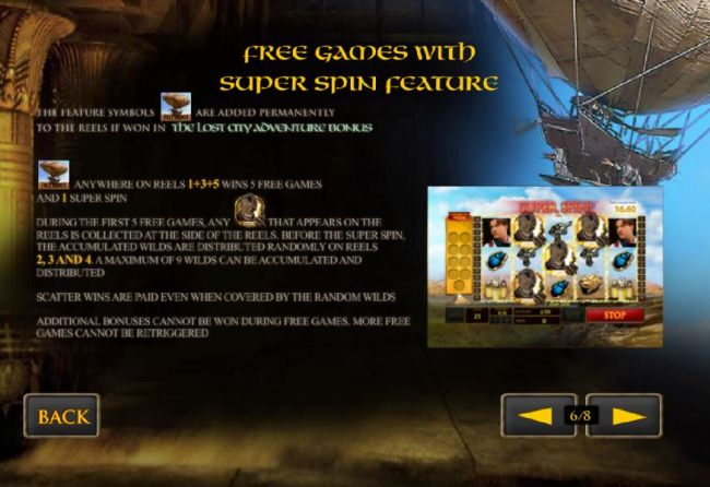 free games with super spin feature