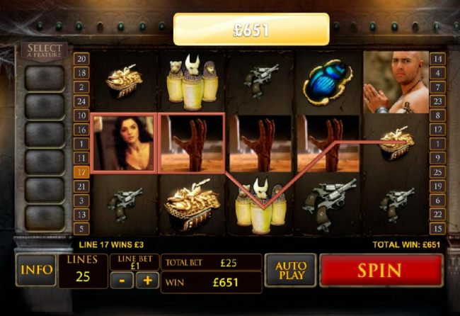 651 coin jackpot payout