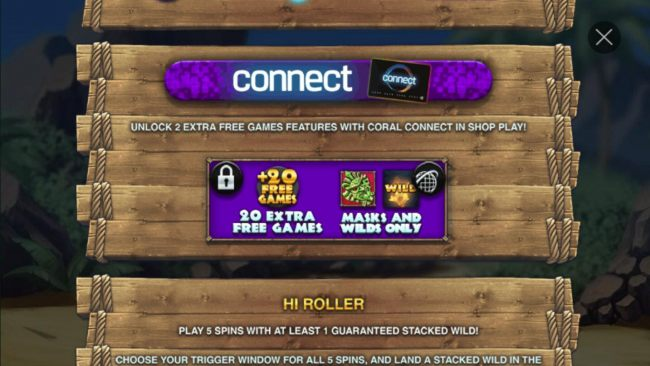 Unlock 2 extra free games features with Coral Connect in shop play