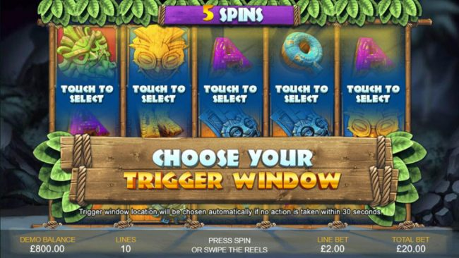 Choose your Trigger Window when playing Hi Roller