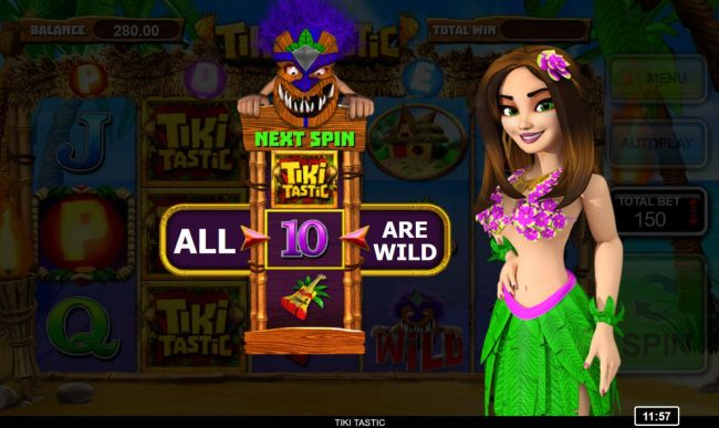 Special symbol will be wild during the free spins