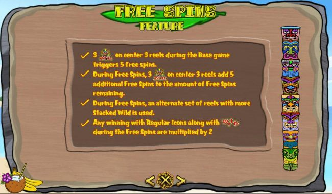 Free Spins Feature Rules