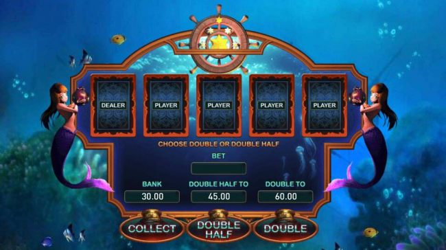Double Gamble Feature Game Board