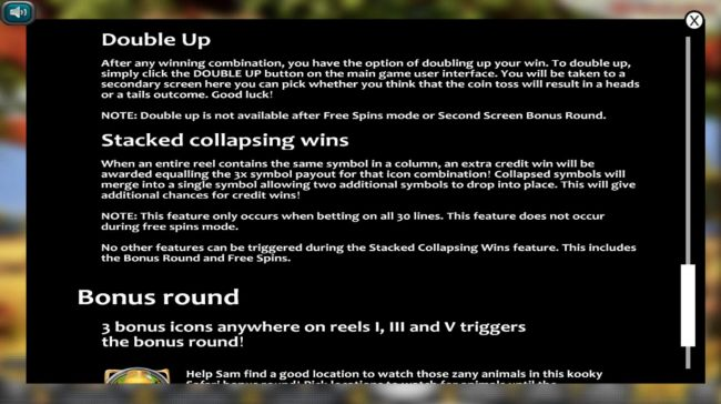 Double Up and Stacked Collapsing Win Rules